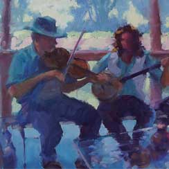 Music Oil Paintings